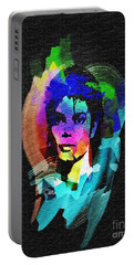 Michael Jackson Portable Battery Charger by Mo T