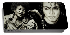 Michael Jackson - The Man In The Mirror Portable Battery Charger