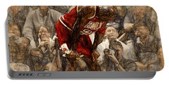 Michael Jordan The Flu Game Portable Battery Charger