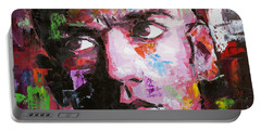 Michael Stipe Portable Battery Charger by Richard Day