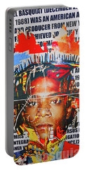 Michel Basquiat Portable Battery Charger