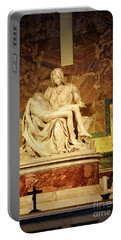 Michelangelo Masterpiece Of A Mother's Love Portable Battery Charger