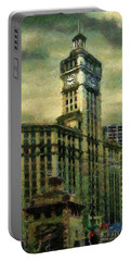 Michigan Avenue Afternoon Portable Battery Charger