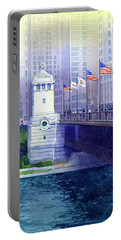 Michigan Avenue Bridge Portable Battery Charger