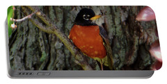 Michigan State Bird Robin Portable Battery Charger