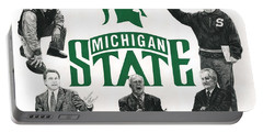 Michigan State Coaching Legends Portable Battery Charger