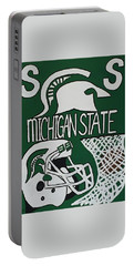 Michigan State Spartans Portable Battery Charger