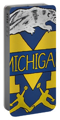 Michigan Wolverines Portable Battery Charger