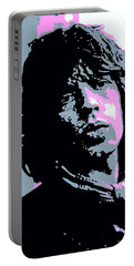 Mick Jagger In London Portable Battery Charger