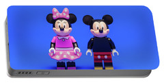 Mickey And Minnie Portable Battery Charger