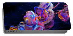 Micro Space - Colorful Abstract Photography Portable Battery Charger