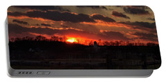 Portable Battery Charger featuring the photograph Mid Ohio Sunset by Bruce Patrick Smith