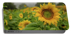 Mid September Sunflowers Portable Battery Charger