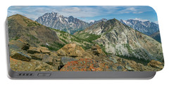 Midday At Iron Peak Portable Battery Charger