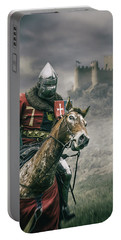Middle Ages Knight Portable Battery Charger