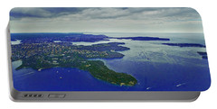 Middle Head And Sydney Harbour Portable Battery Charger