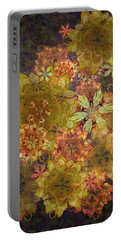 Midnight Blossom Bouquet Portable Battery Charger