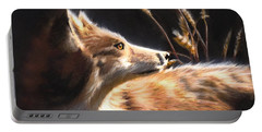 Midnight Fox Portable Battery Charger