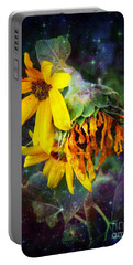 Midnight  In The Garden Portable Battery Charger