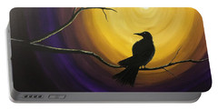 Midnight Raven Portable Battery Charger