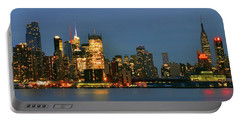 Portable Battery Charger featuring the photograph Midtown Manhattan by Zawhaus Photography