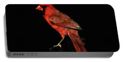 Midwestern Cardinal Portable Battery Charger