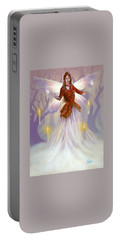 Midwinter Blessings Portable Battery Charger by Amyla Silverflame