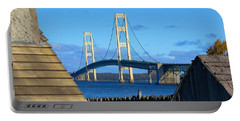 Mighty Mac From Michilimackinac Portable Battery Charger