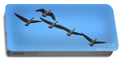 Migrating Geese Portable Battery Charger