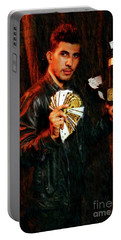 Miguel Vasquez The Unbelievable Magic Mike Portable Battery Charger