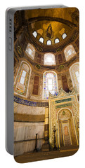 Mihrab In The Hagia Sophia Portable Battery Charger