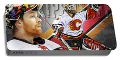 Miikka Kiprusoff Portable Battery Charger by Don Olea