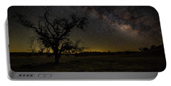 Portable Battery Charger featuring the photograph Miily Way In A Late Spring Sky by Tim Bryan