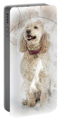 Mike And Millie 100 Portable Battery Charger by M K  Miller