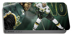 Mike Modano Portable Battery Charger by Don Olea