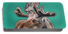 Mike The Moose Portable Battery Charger