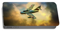 Portable Battery Charger featuring the photograph Mikoyan-gurevich Mig-15uti by Chris Lord