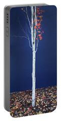Portable Battery Charger featuring the photograph Miksang 7 Coming Soon by Theresa Tahara
