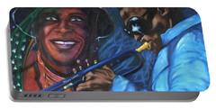 Blaa Kattproduksjoner            Miles Davis - Smiling Portable Battery Charger