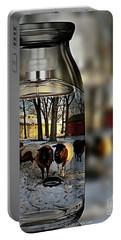 Milk Jar Reflecton Portable Battery Charger