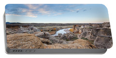 Portable Battery Charger featuring the photograph Milk River Sun Up by Fran Riley