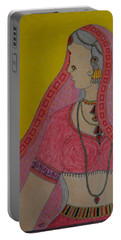 Village Girl Portable Battery Charger