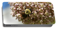 Portable Battery Charger featuring the photograph Milkweed by Heidi Poulin