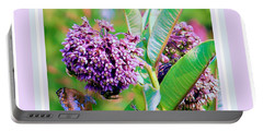 Milkweed Memories Portable Battery Charger