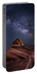 Milky Way And The Wave Portable Battery Charger
