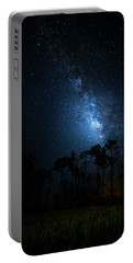 Portable Battery Charger featuring the photograph Milky Way At Big Cypress National Preserve by Mark Andrew Thomas
