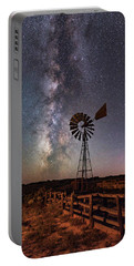 Milky Way At Dubinky Well Portable Battery Charger