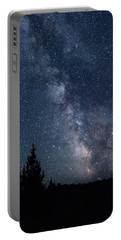 Milky Way At Eastern Oregon Wilderness Portable Battery Charger