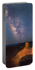 Milky Way At Marlboro Point Portable Battery Charger