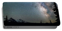 Portable Battery Charger featuring the photograph Milky Way At Mckenzie Pass by Cat Connor